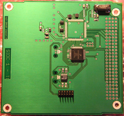 1st prototype CCT Board - Top View