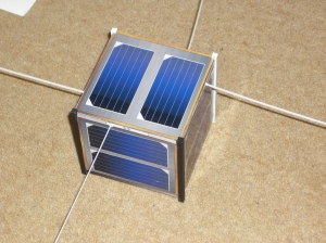 FUNcube model, the antennas are made from plastic strip