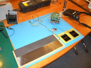 MSE and solar panel test jig