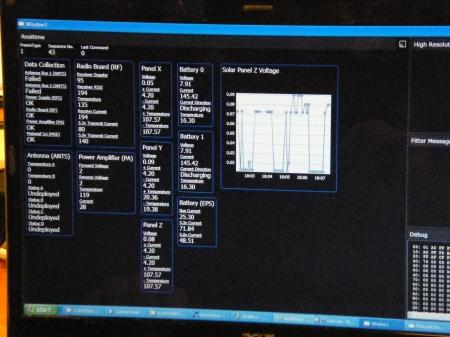 Engineering GUI screen shot